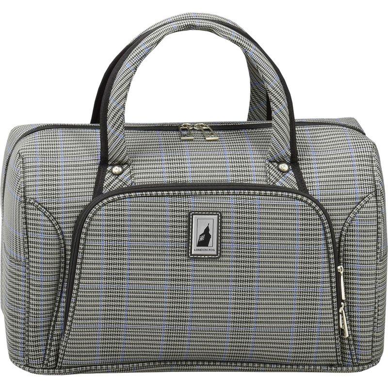 ロンドンフォグ メンズ スーツケース バッグ Knightsbridge II 17 Cabin Bag Grey Sapphire Plaid
