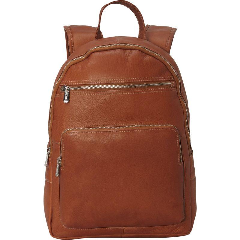 ピエール メンズ スーツケース バッグ Front Pocket Laptop Backpack Saddle