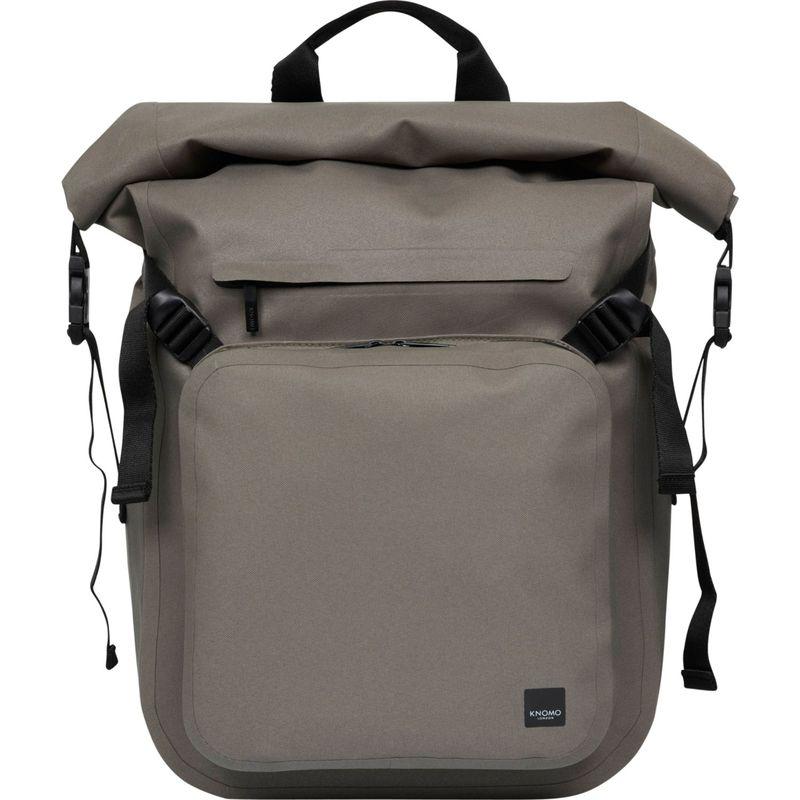 クノモ メンズ スーツケース バッグ Hampton Roll-Top 14 Laptop Briefcase Khaki