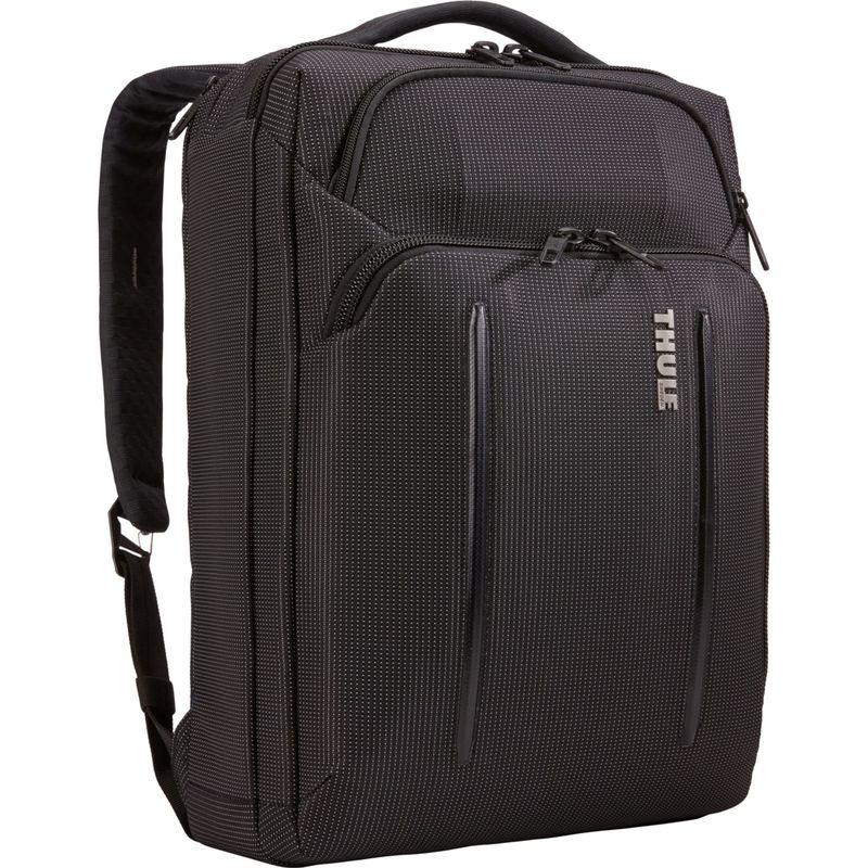 スリー メンズ スーツケース バッグ Crossover 2 Convertible Laptop Bag 15.6 Black(Black)