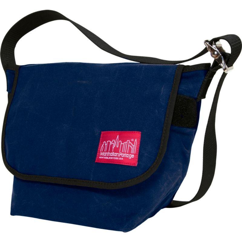 マンハッタンポーテージ メンズ ショルダーバッグ バッグ Vintage Canvas Messenger Bag Navy