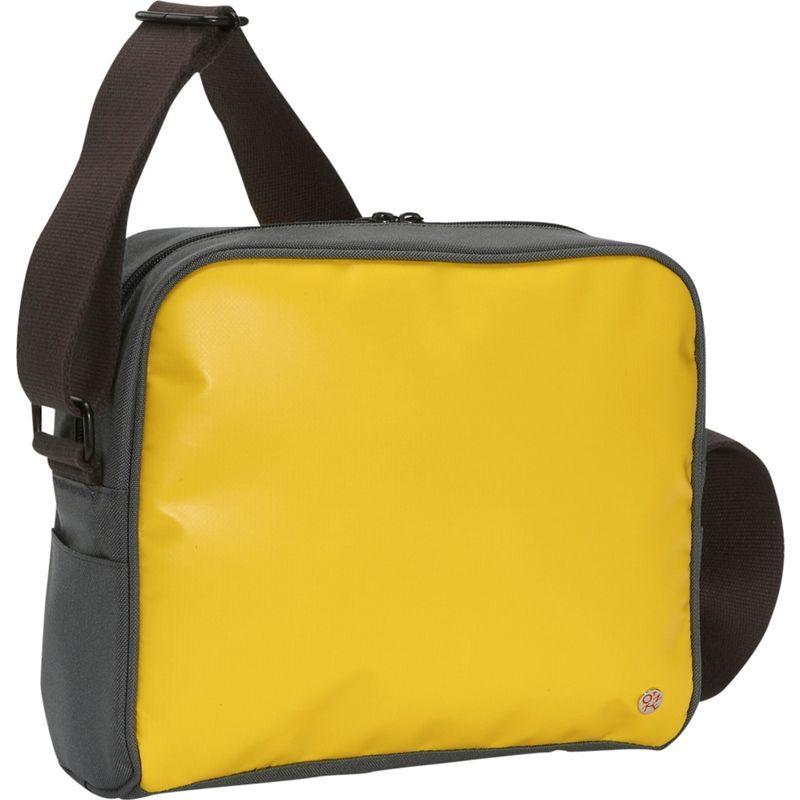 トーケン メンズ ショルダーバッグ バッグ Pacific Flight Bag Yellow