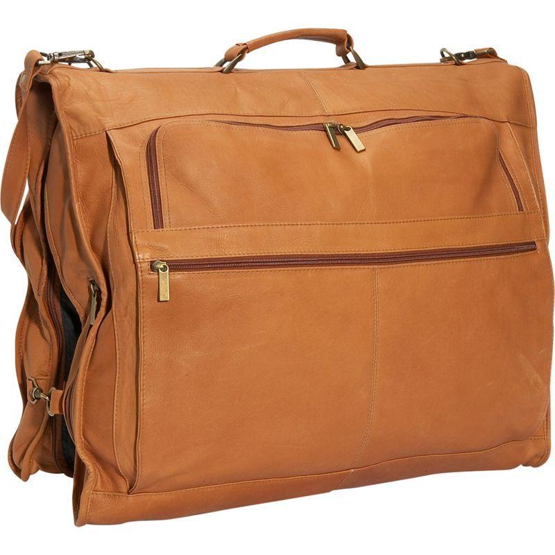 デビッドキング メンズ スーツケース バッグ 42 Deluxe Garment Bag Tan