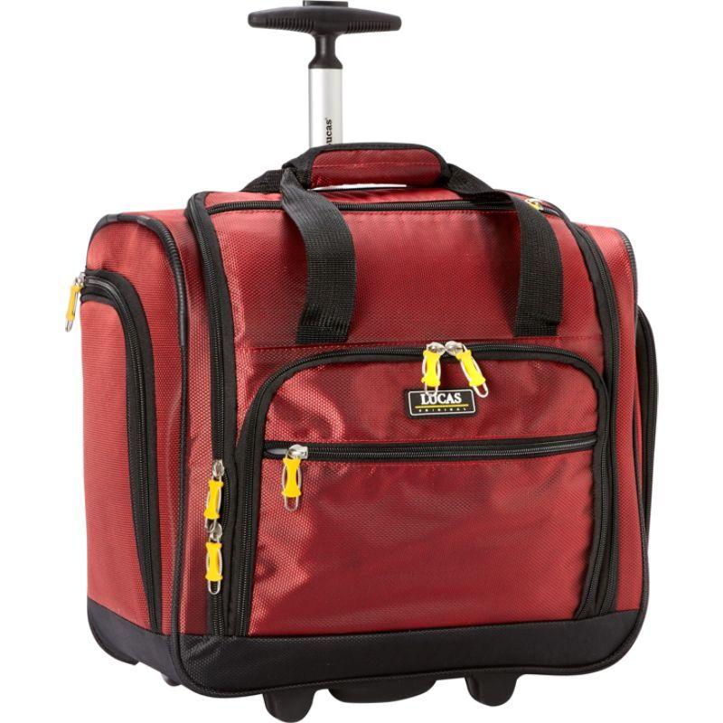 ルーカス メンズ スーツケース バッグ Wheeled Underseat Cabin Bag 16 - eBags EXCLUSIVE Red