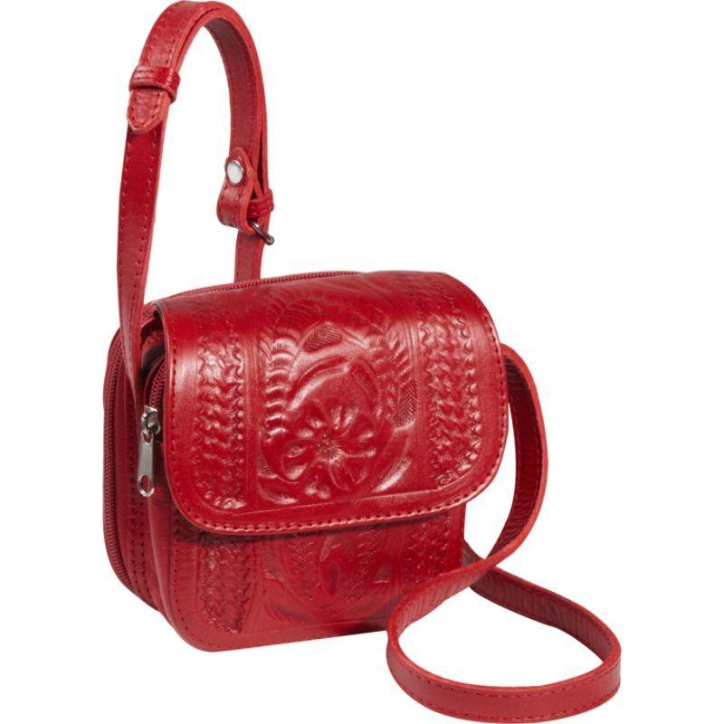 ロピンウェスト メンズ ボディバッグ・ウエストポーチ バッグ Small Cross-body Bag Red