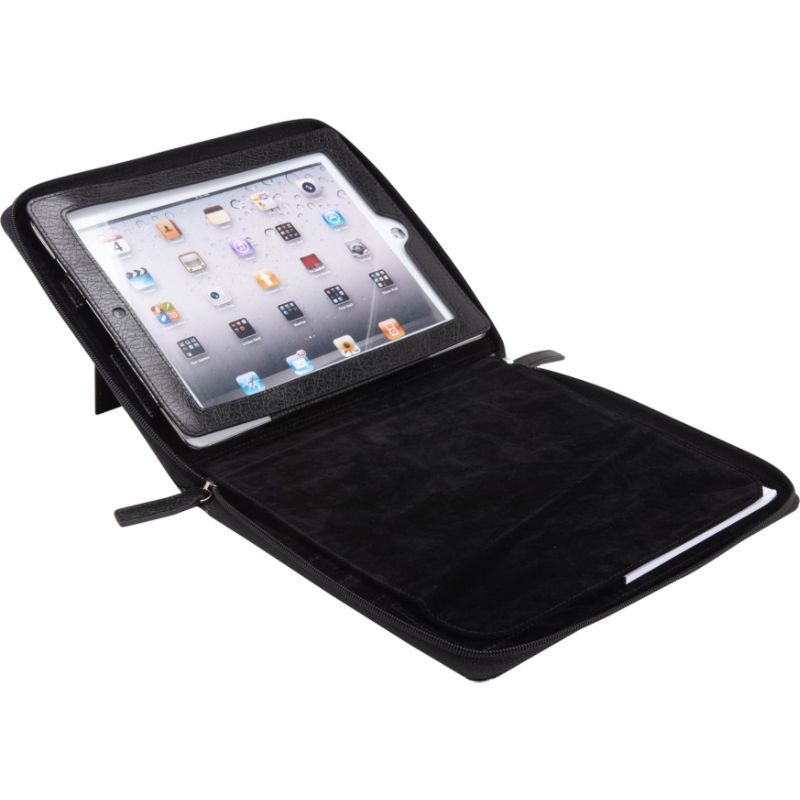 ベリノ メンズ PC・モバイルギア アクセサリー Zip Around Noteworthy Case - New iPad and iPad 2 Black