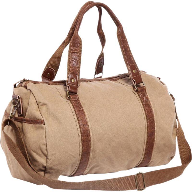ヴァガボンドトラベラー メンズ ショルダーバッグ バッグ Large Canvas Shoulder Travel Bag Khaki