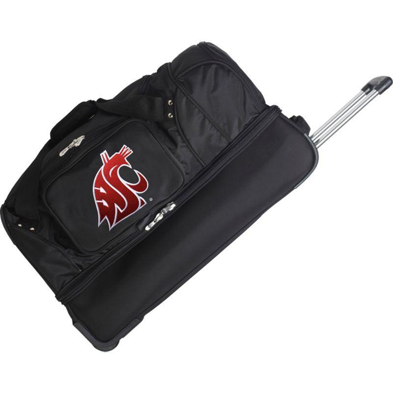 デンコスポーツ メンズ スーツケース バッグ NCAA 27 Drop Bottom Wheeled Duffel Bag Washington State University Cougars