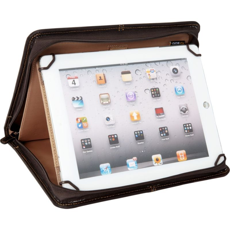 ソロ メンズ PC・モバイルギア アクセサリー Premiere Leather Universal Tablet Case, 8.5 up to 11 Espresso