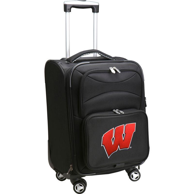 デンコスポーツ メンズ スーツケース バッグ NCAA 20 Domestic Carry-On Spinner Black