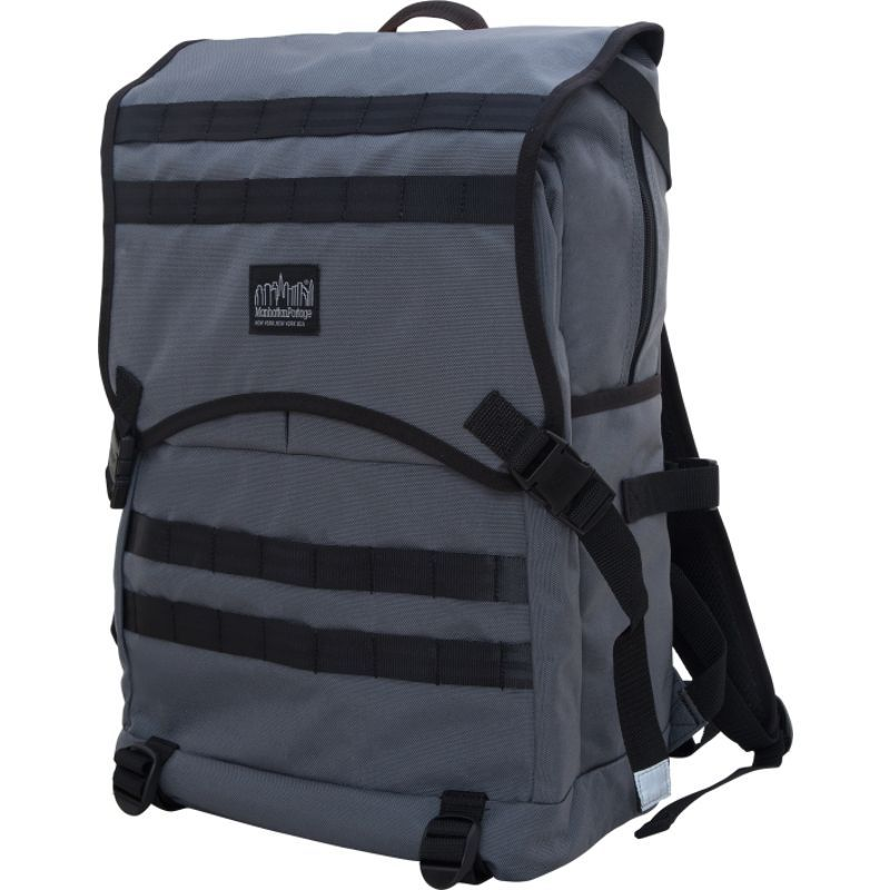 マンハッタンポーテージ メンズ バックパック・リュックサック バッグ Fort Hamilton Backpack Gray