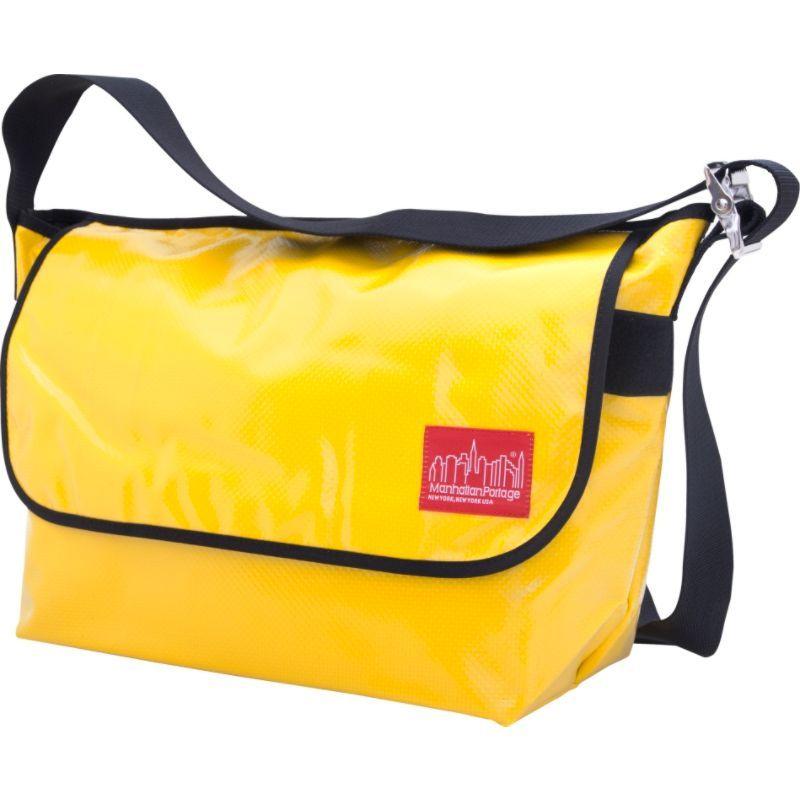 マンハッタンポーテージ メンズ ショルダーバッグ バッグ Vinyl Vintage Messenger Bag (LG) VER2 Yellow