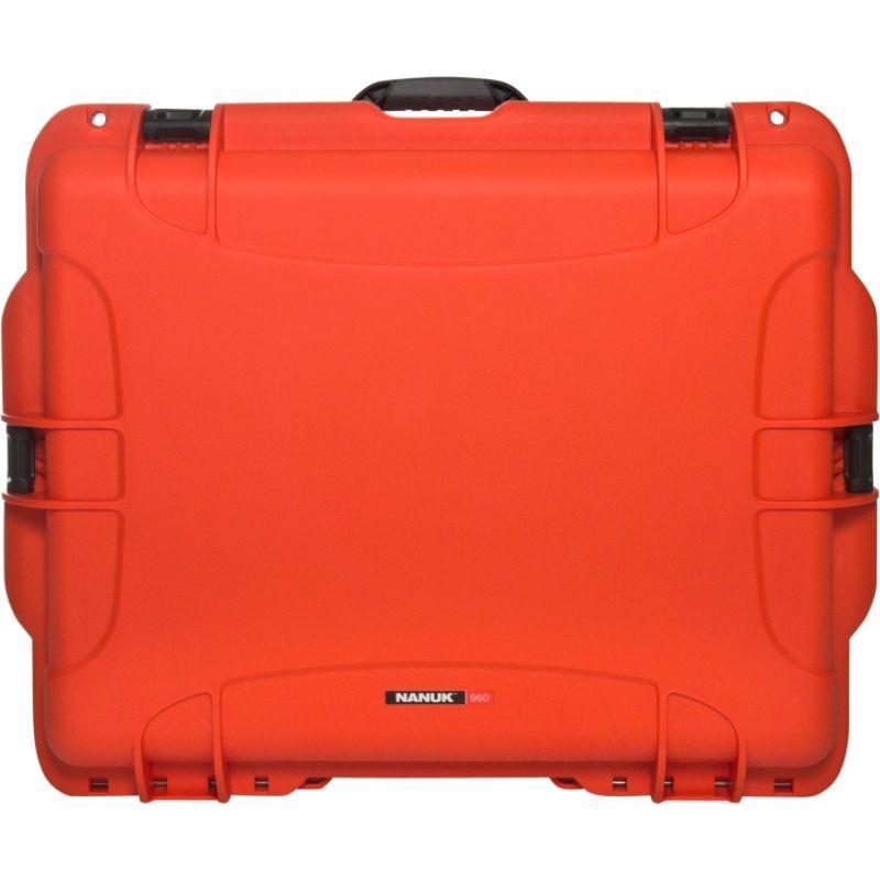 ナヌク メンズ スーツケース バッグ 960 Water Tight Protective Case w/Foam Insert Orange