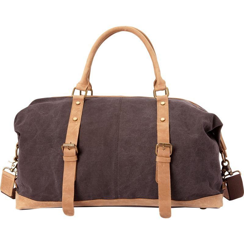 ヴァガボンドトラベラー メンズ スーツケース バッグ Classic Canvas Medium Duffle Bag- eBags Exclusive Grey
