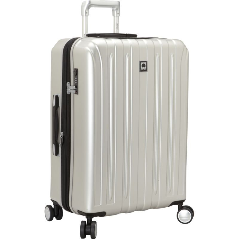 デルシー メンズ スーツケース バッグ Helium Titanium 25 Spinner Trolley Silver
