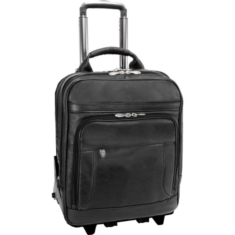 マックレイン メンズ スーツケース バッグ Wicker Park Rolling Business Case Black