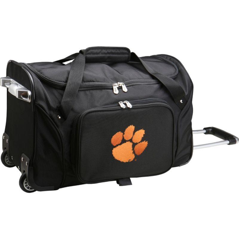 デンコスポーツ メンズ スーツケース バッグ NCAA 22 Rolling Duffel Clemson University Tigers
