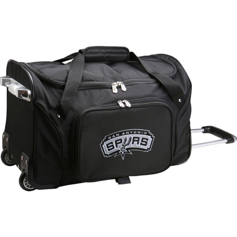 デンコスポーツ メンズ スーツケース バッグ NBA 22 Rolling Duffel San Antonio Spurs