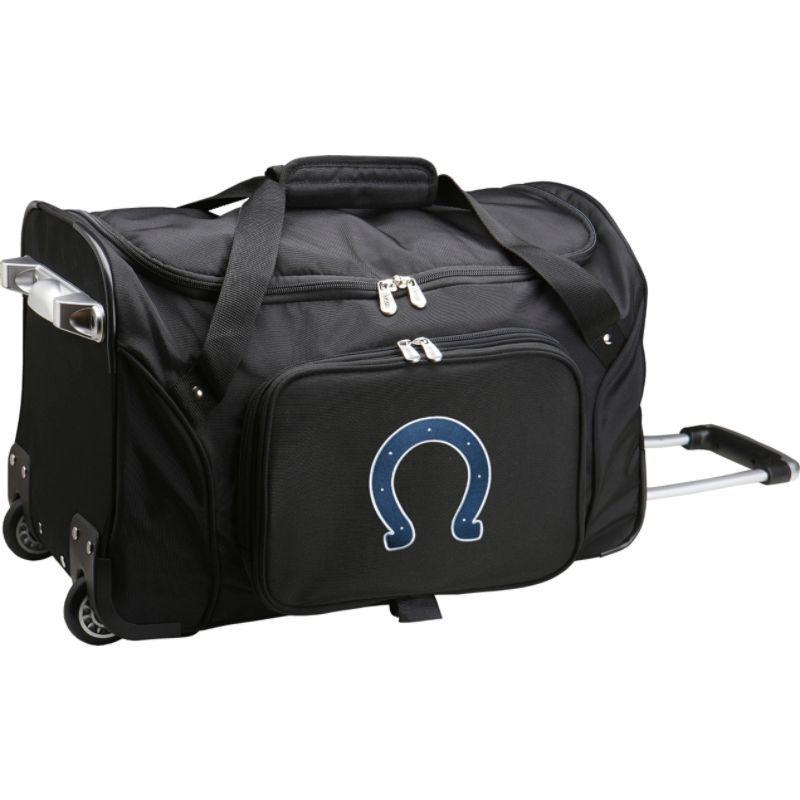 デンコスポーツ メンズ スーツケース バッグ NFL 22 Rolling Duffel Indianapolis Colts
