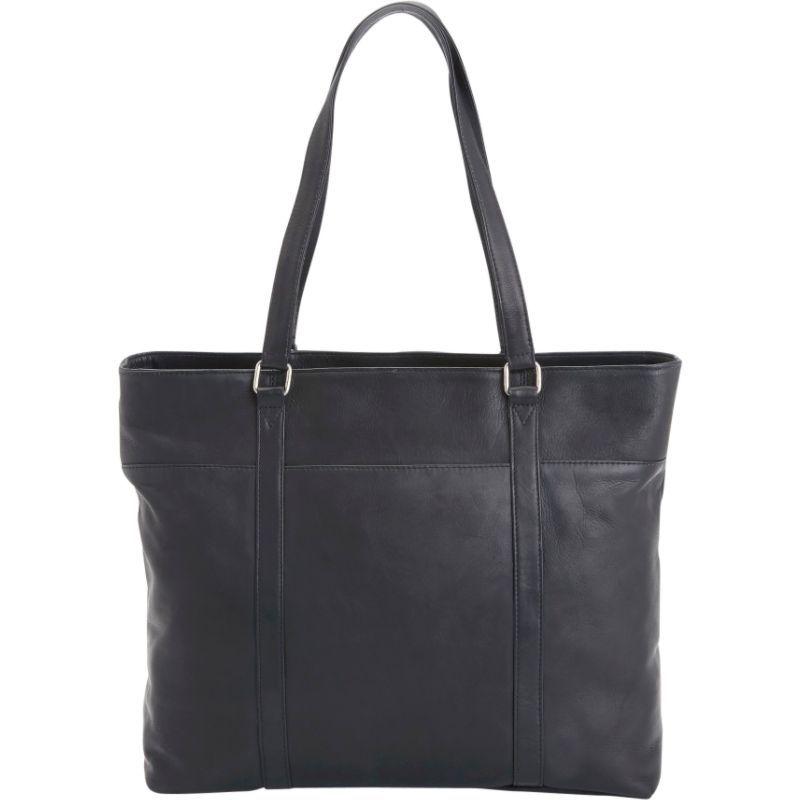 ロイスレザー レディース スーツケース バッグ Women's Colombian Leather Carryall Tote Black