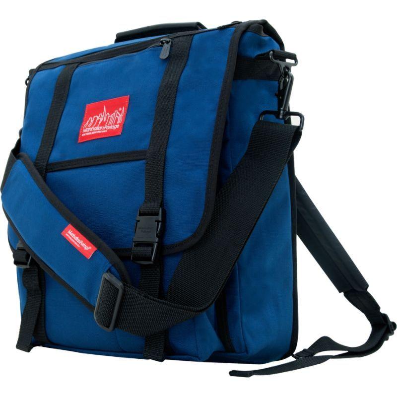 マンハッタンポーテージ メンズ ショルダーバッグ バッグ Commuter Laptop Bag Navy