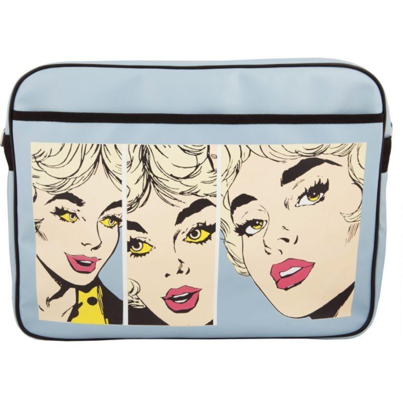 アーバンファクトリー メンズ スーツケース バッグ Nice Lady's Vintage bag 15.6 Blue