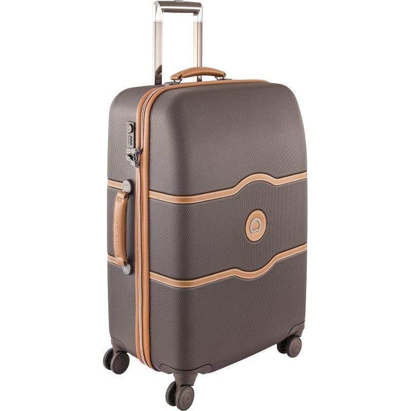 デルシー メンズ スーツケース バッグ Chatelet Hard+ 25 4 Wheel Spinner Brown