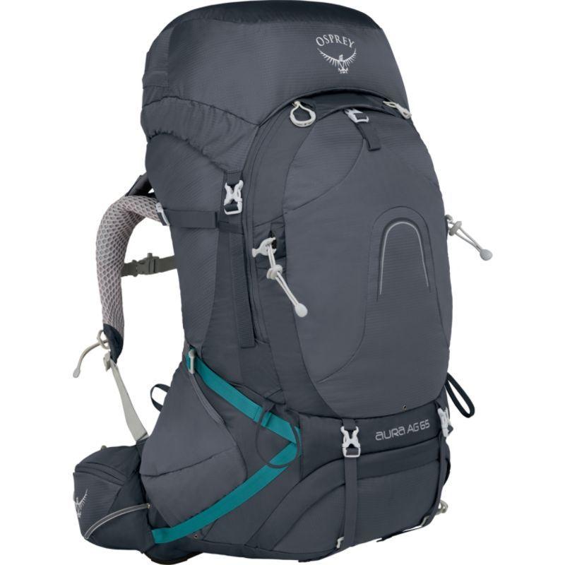 オスプレー メンズ バックパック・リュックサック バッグ Aura AG 65 Backpack Vestal Grey MD