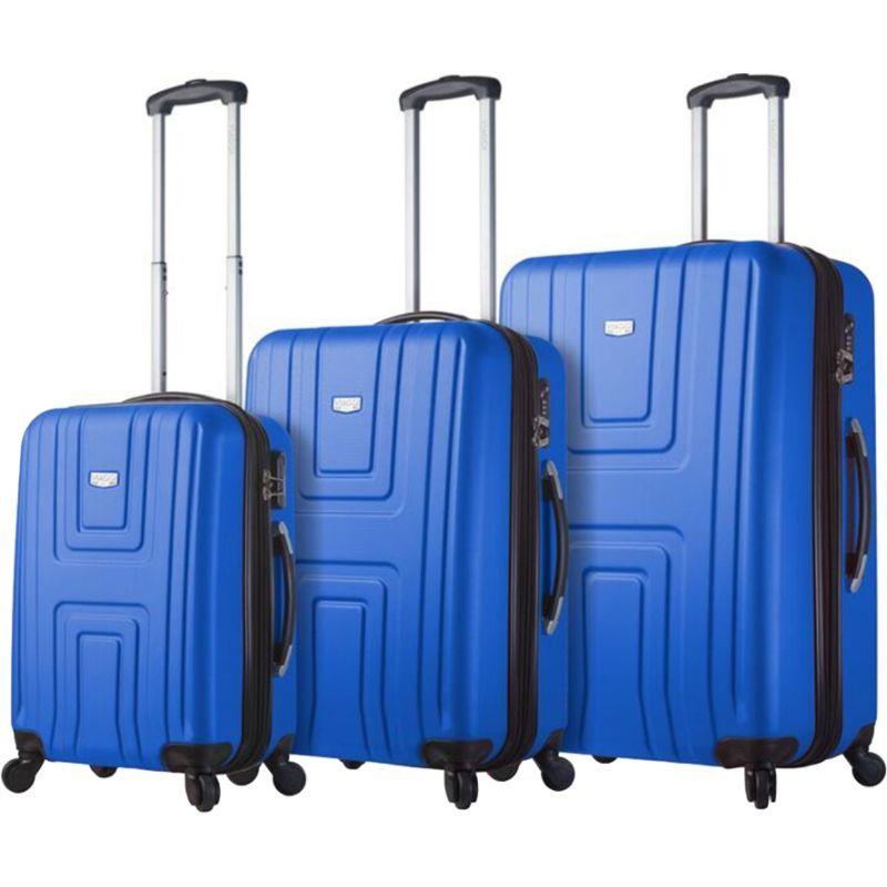 ミアビアッギ メンズ スーツケース バッグ Ferrara Hardside 3 Piece Spinner Set Blue