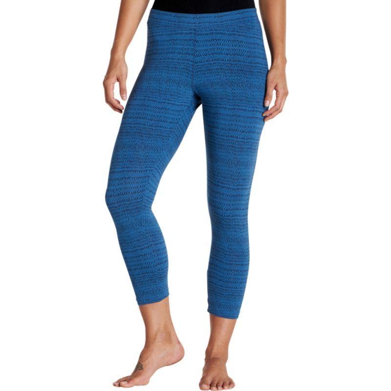トードアンドコー レディース カジュアルパンツ ボトムス Print Lean Capri Legging XS - Bright Indigo Rain Drop Print