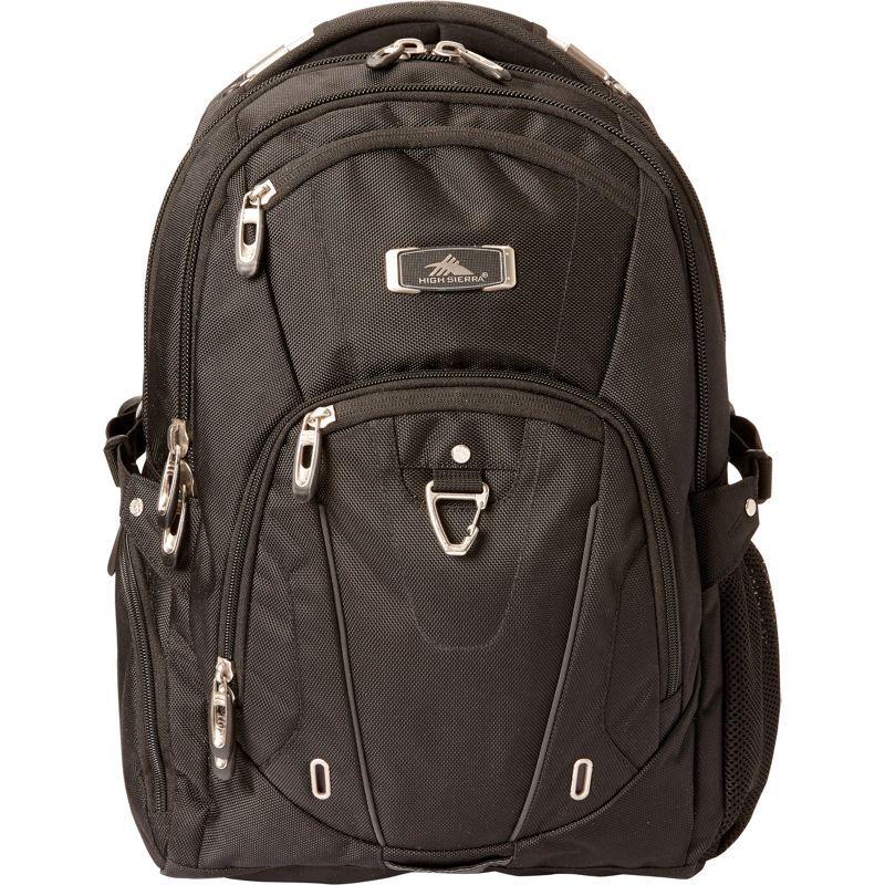ハイシエラ メンズ バックパック・リュックサック バッグ Pro Series Laptop Business Backpack- eBags Exclusive Black