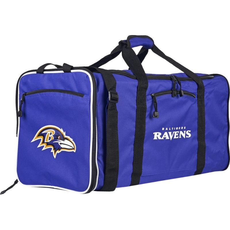 NFL メンズ ボストンバッグ バッグ Steal Duffel Baltimore Ravens