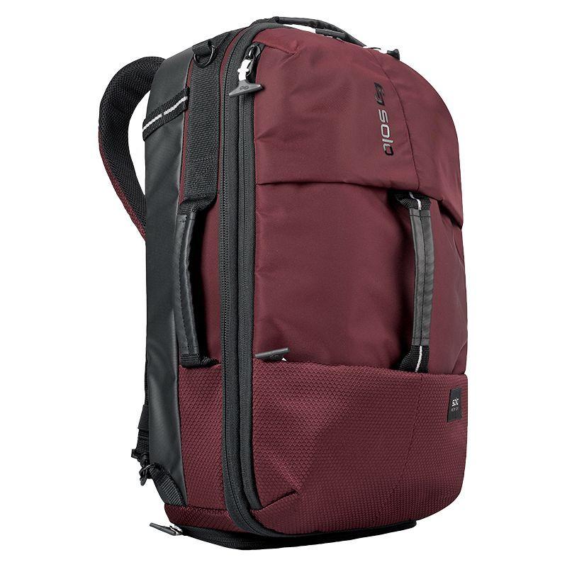 ソロ メンズ バックパック・リュックサック バッグ All-Star Hybrid Backpack Burgundy