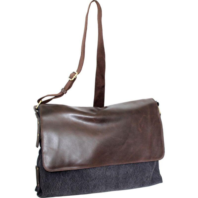 ニノボッシ メンズ ボディバッグ・ウエストポーチ バッグ Vivien Messenger Bag Washed Black