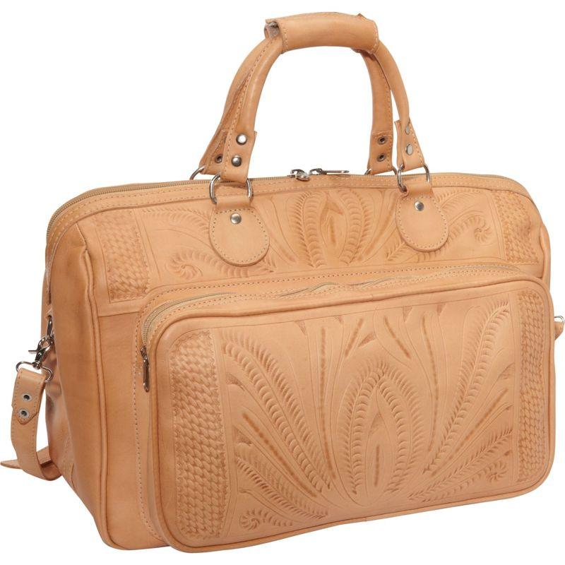 ロピンウェスト メンズ スーツケース バッグ 18 Leather Weekender Natural