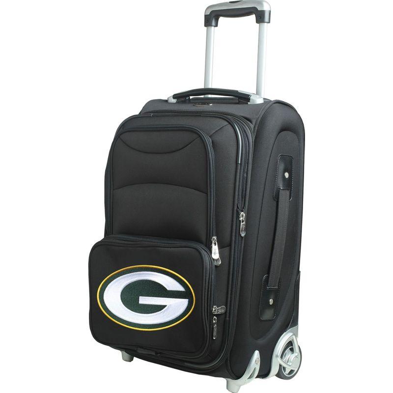 デンコスポーツ メンズ スーツケース バッグ NFL 21 Wheeled Upright Green Bay Packers