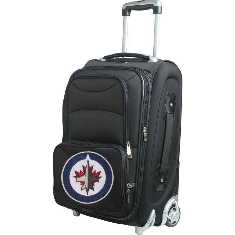 デンコスポーツ メンズ スーツケース バッグ NHL 21 Wheeled Upright Winnipeg Jets