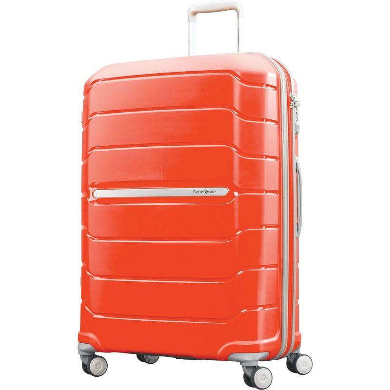 サムソナイト メンズ スーツケース バッグ Freeform 28 Hardside Spinner Tangerine