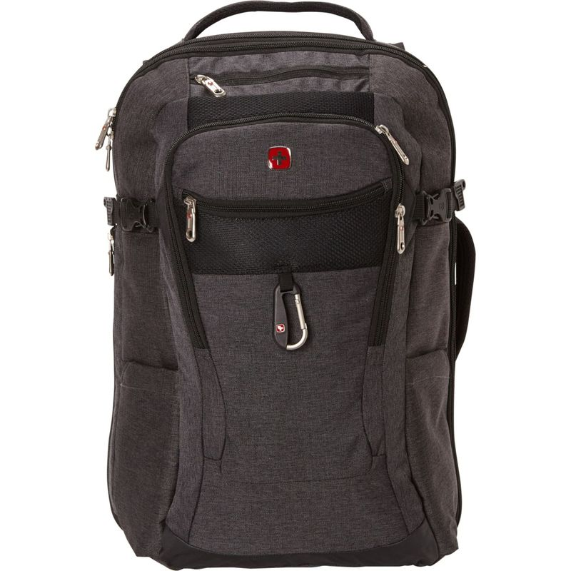 スイスギアトラベルギア メンズ バックパック・リュックサック バッグ 1900 Travel Laptop Backpack 15 - eBags Exclusive Grey Heather/Black