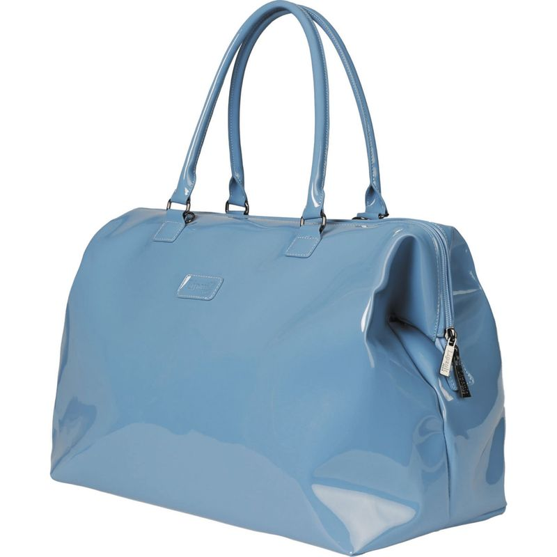 リパルトパリ メンズ トートバッグ バッグ Plume Vinyle Weekend Bag - Medium Steel Blue-Discontinued
