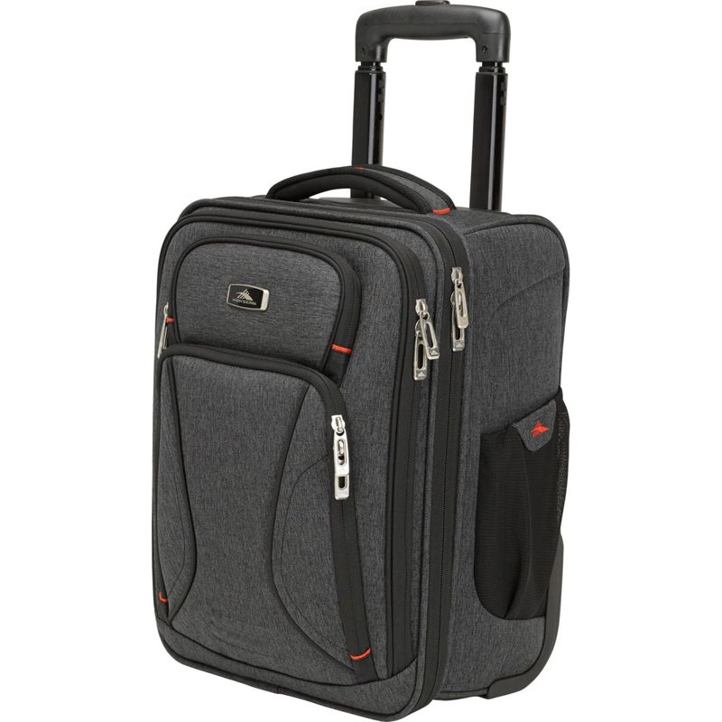 ハイシエラ メンズ スーツケース バッグ Endeavor Wheeled Underseater Carry-On Mercury/Heather
