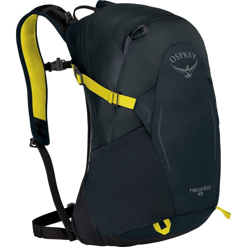 オスプレー メンズ バックパック・リュックサック バッグ Hikelite 18 Hiking Backpack Shitake Grey