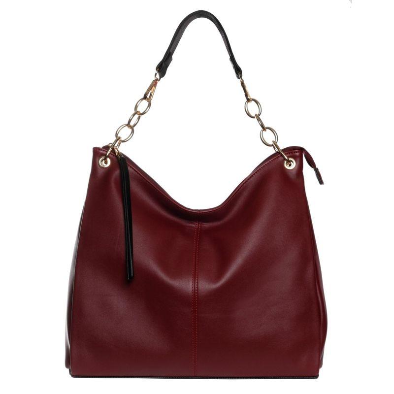 ラディバ メンズ ショルダーバッグ バッグ Madison Shoulder Bag Bordeaux