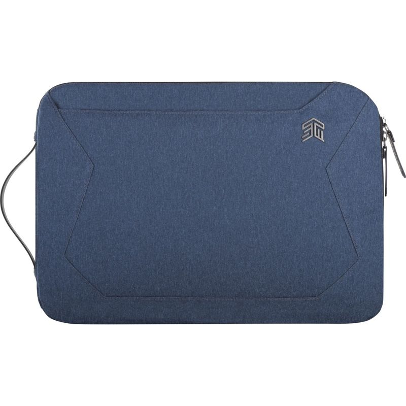 STMグッズ メンズ スーツケース バッグ Myth 13 Fleece-Lined Sleeve with Removable Strap Slate Blue