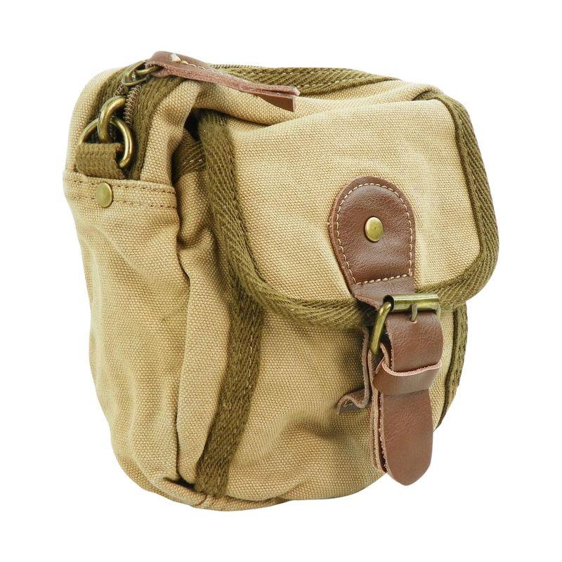 ヴァガボンドトラベラー メンズ ボディバッグ・ウエストポーチ バッグ Canvas Sorts Waist Bag Khaki