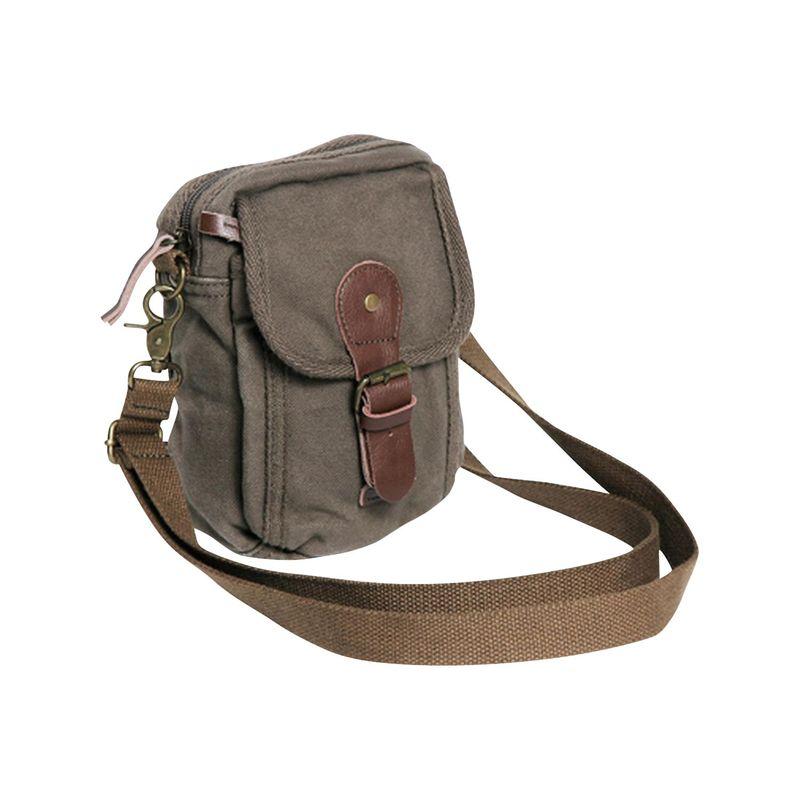 ヴァガボンドトラベラー メンズ ボディバッグ・ウエストポーチ バッグ Canvas Sorts Waist Bag Military Green