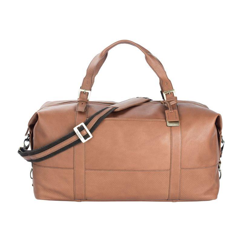 ブガッティ メンズ スーツケース バッグ Soledad Leather Duffle Bag Cognac