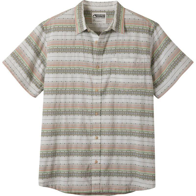 マウンテンカーキス メンズ シャツ トップス Horizon Short Sleeve Shirt Linen