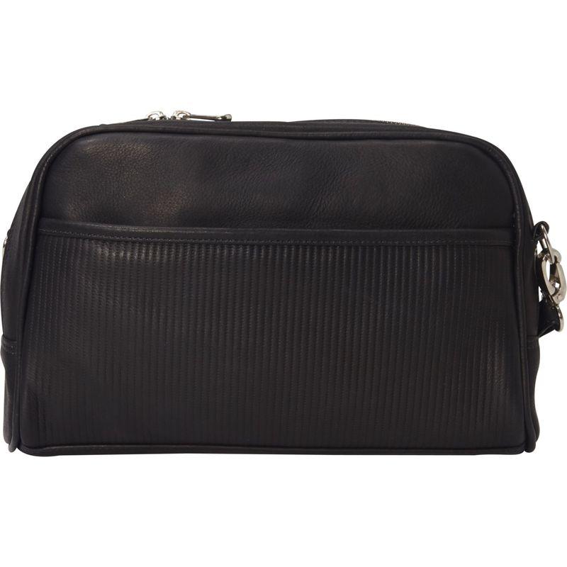 ピエール メンズ ボディバッグ・ウエストポーチ バッグ Impresso Clutch Handbag Black