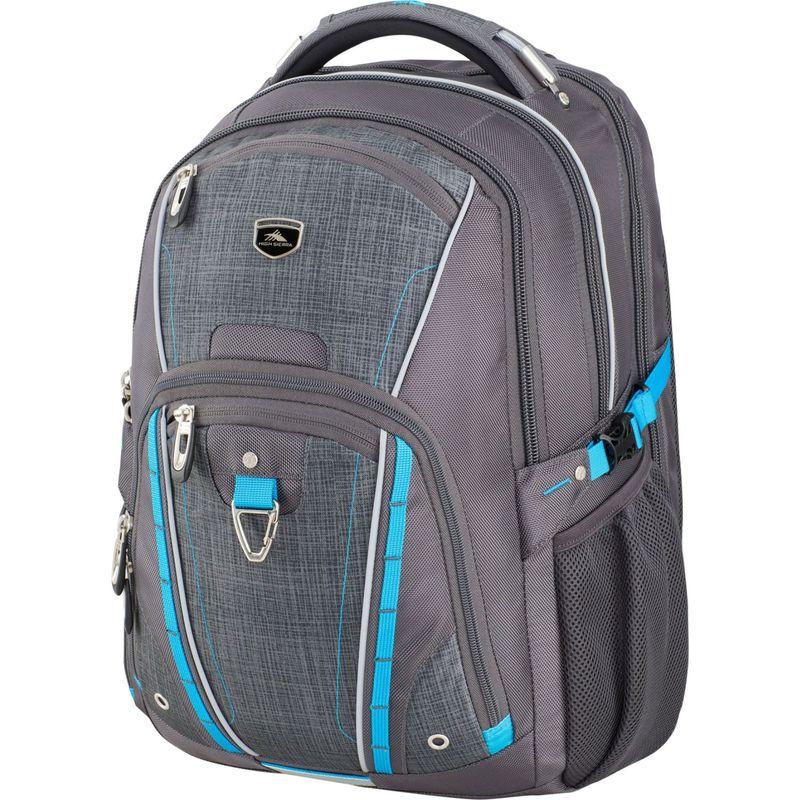 ハイシエラ メンズ スーツケース バッグ Vuna TSA Business Backpack Mercury/Burlap/Pool